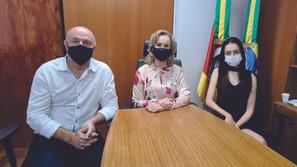Comitiva Executiva de Saldanha Marinho esteve em Porto Alegre
