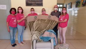 Associação de Combate ao Câncer de Santa Bárbara do Sul realizou doações ao HSBB