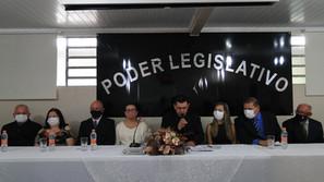 Autoridades do Executivo e Legislativo de Saldanha Marinho tomaram posse