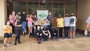 Escola de Inglês Stand Up de Santa Bárbara do Sulrealizou ação solidária