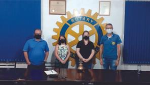 Rotary Club de Santa Bárbara do Sul realizou palestra para comemorar 42 anos de atividades