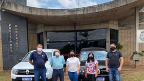 Administração de Saldanha Marinho recebeu dois veículos