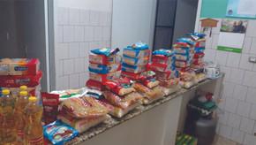 Secretaria de Educação de Saldanha Marinho entregou 35 kits de alimentos