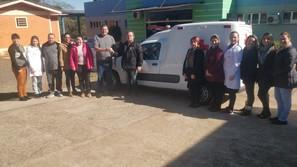 Secretaria de Saúde de Saldanha Marinho recebe nova Ambulância Tipo A