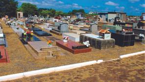 Secretaria de Agricultura e Meio Ambiente realizou manutenção no Cemitério Municipal