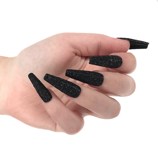 Glitter Press on Nail Set