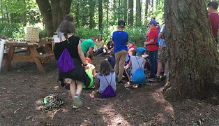 Outdoor School with Central Linn
