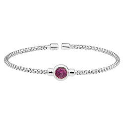 Bella Cavo Pink Stone Bracelet