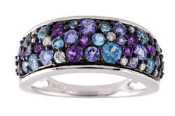 Mixed Stone Ring