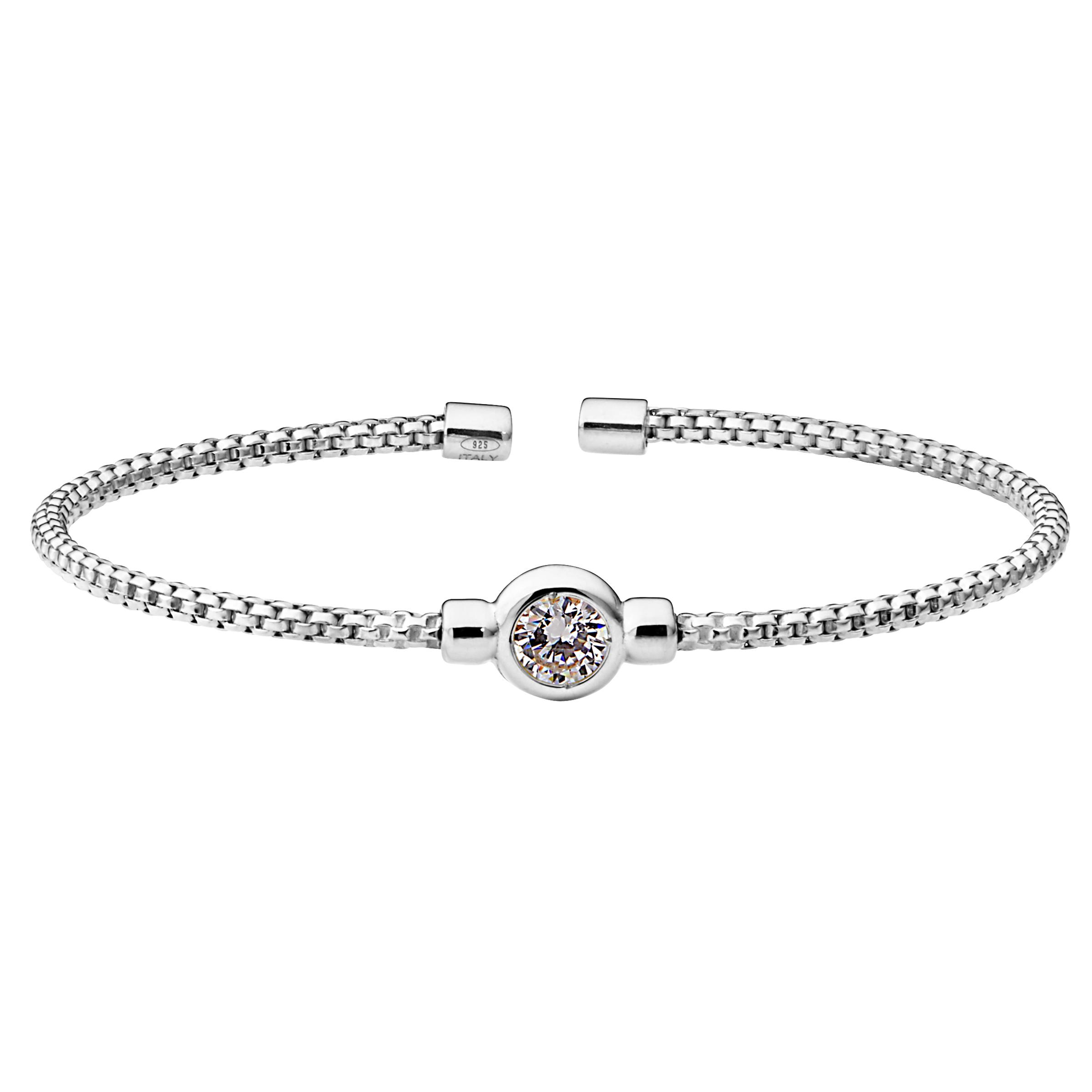 Bella Cavo White Stone Bracelet