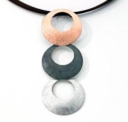 Jorge Revilla Tri-Color Necklace