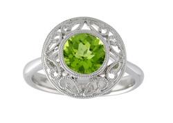 Peridot Fashion Ring