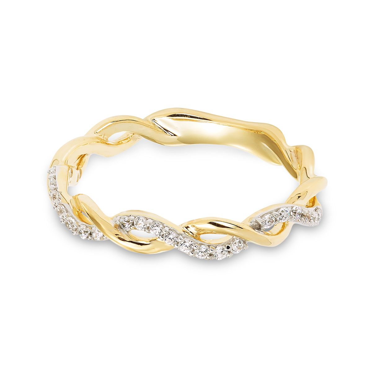 10K Yellow Gold Twist Band