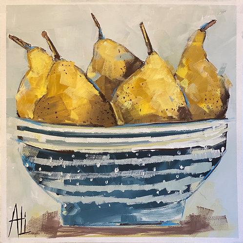 """""""Chunky Yellow Pears"""""""