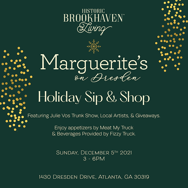 Marguerite's Holiday Sip & Shop