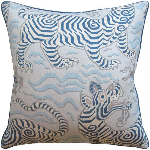 Tibet Blue Pillow