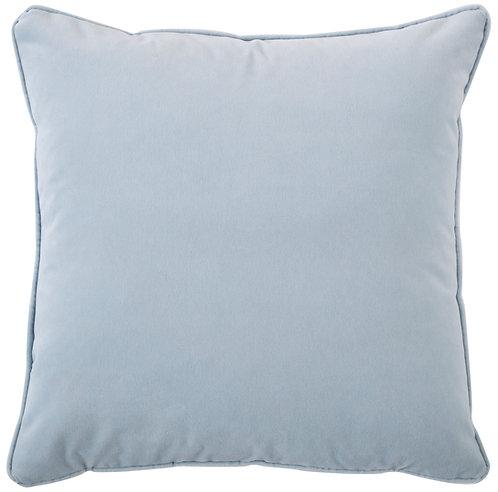 Velvet Ice Blue Pillow