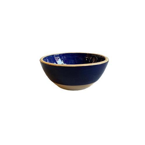 Cobalt Ceramic Bowl