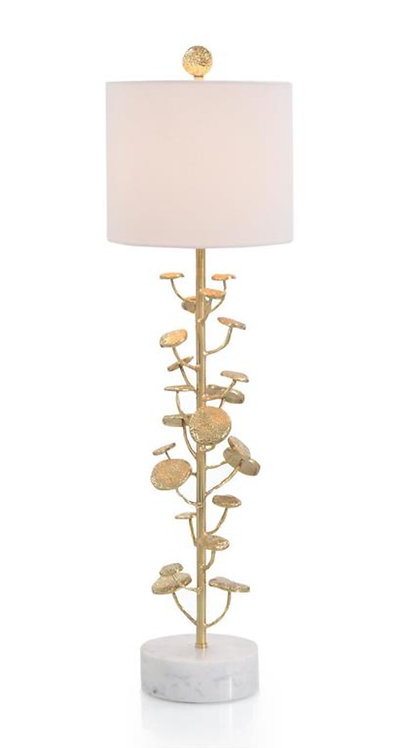 Brass Plated Lamp