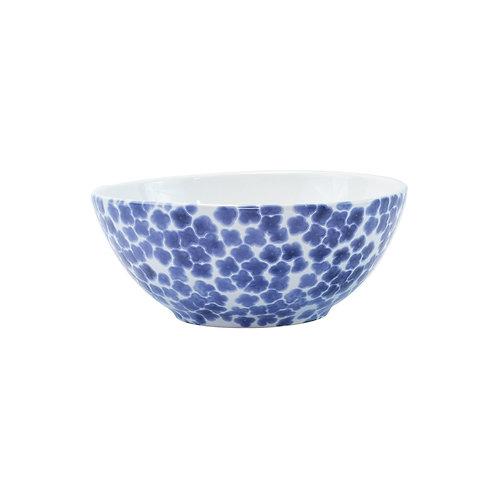 Blue Flower Serving Bowl