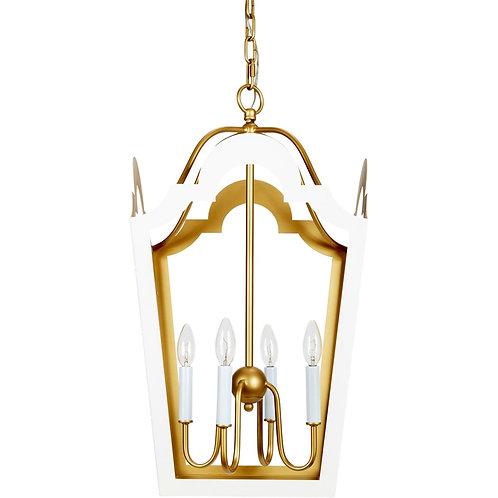 White & Gold Lantern