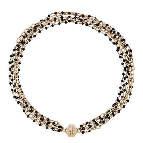 Ashley Spinel Multi Strand Necklace