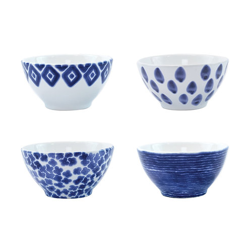 Assorted Cereal Bowl - Set of 4