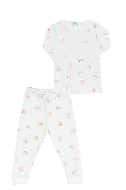 Heart Print Baby PJs