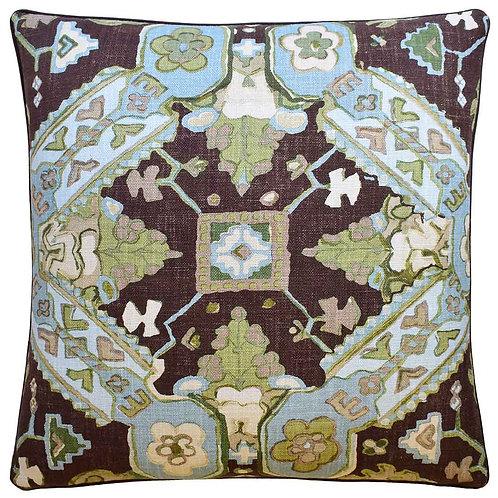 Brown Persian Carpet Pillow