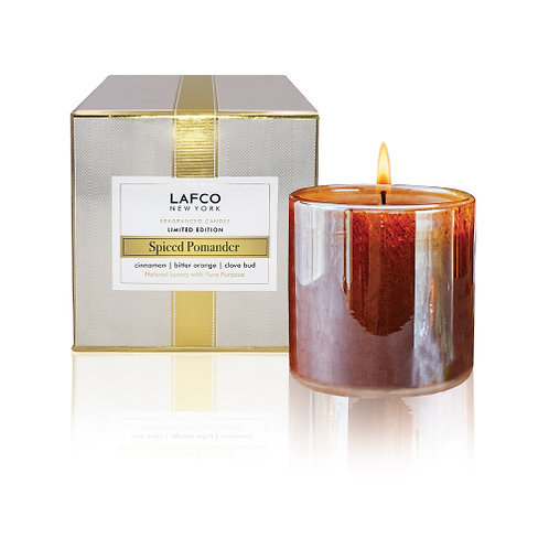 Spiced Pomander Candle