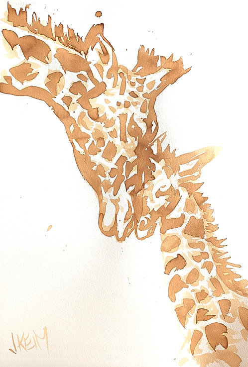 """""""Giraffe Love"""""""