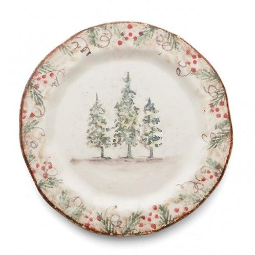 Natale Salad/Dessert Plate