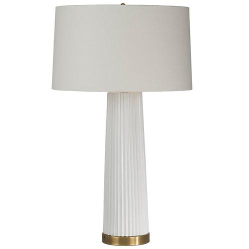 Tall Pleat Lamp