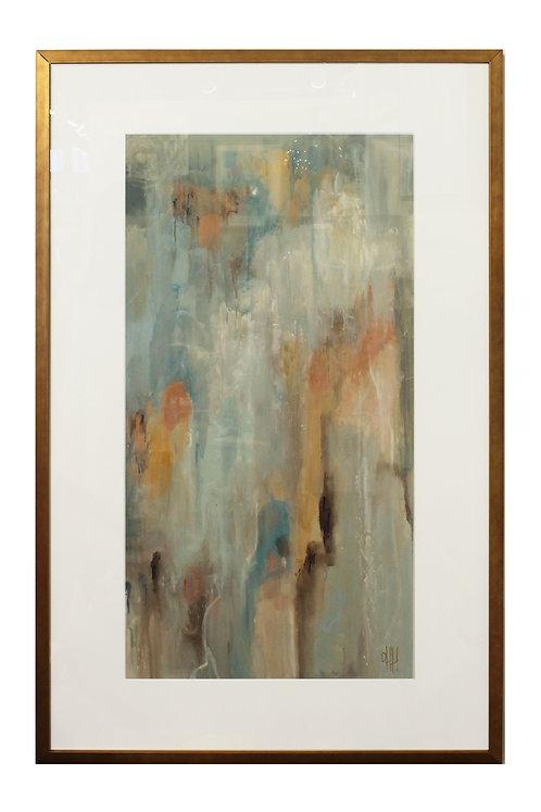 """""""Framed Silk Abstract"""""""