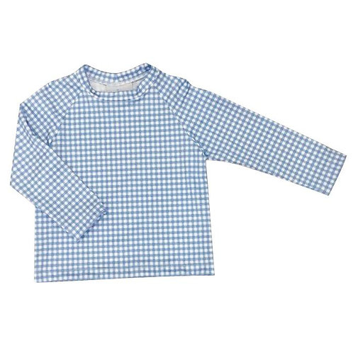 Rash Guard Sammy Blue Check