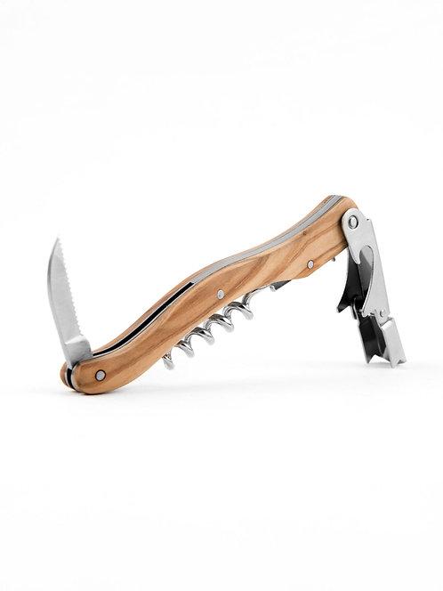 Olivewood/Bone Corkscrew