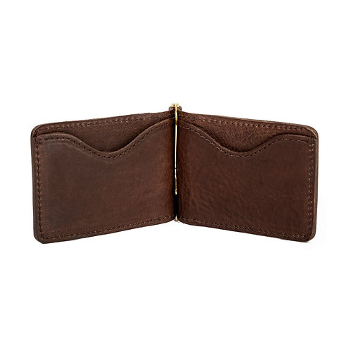 Leather Moneyclip Wallet