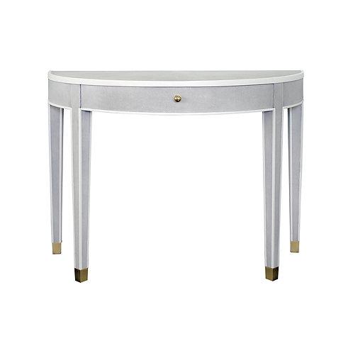 Shagreen Demilune Table