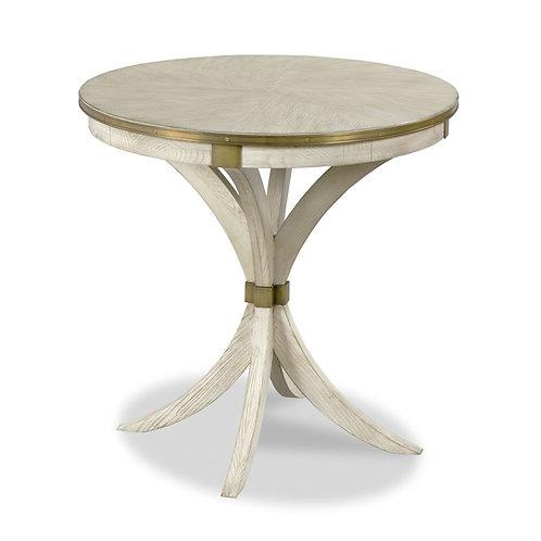 Ash Veneer Round Side Table