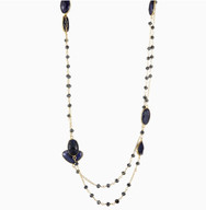 Sapphire Long Necklace