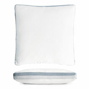 Double Velvet Tuxedo Pillow
