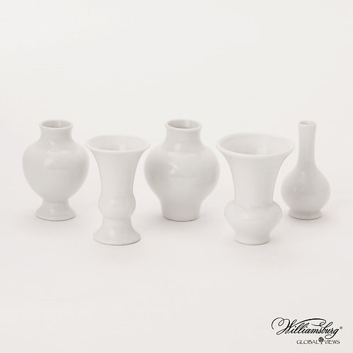 S/5 Mini Chinoise Vases