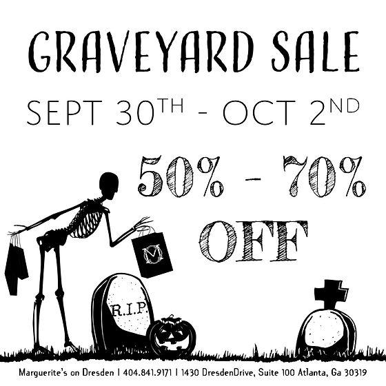 Graveyard Sale Announcement