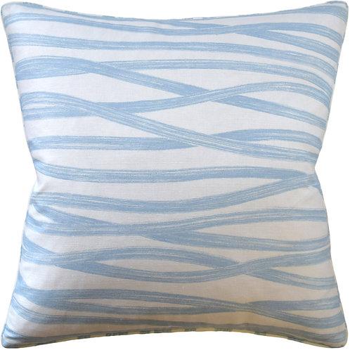 Sky Brushstrokes Pillow