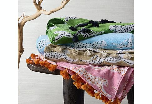 Leopard Beach Blanket