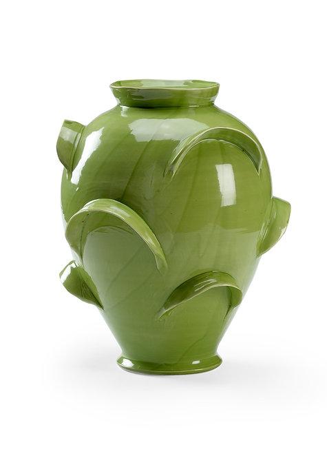 Whiston Vase Green