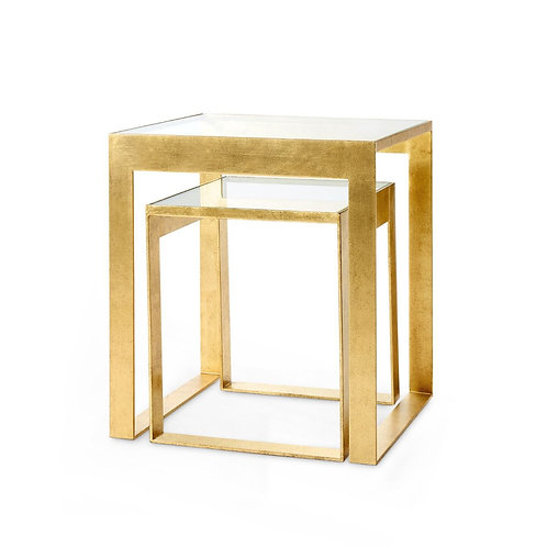 Plano Gold Side Table