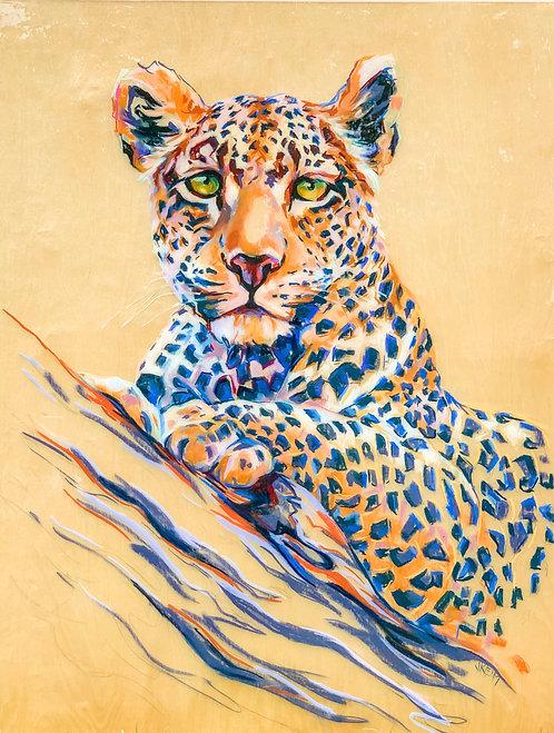 """""""Leopard Perch"""""""