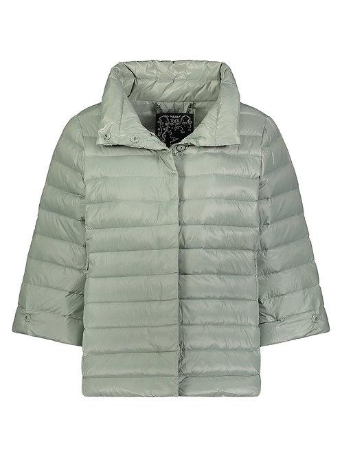 Crop Sleeve Puffer Jacket