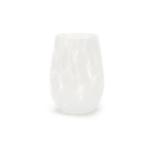 Opal White Wine Glass